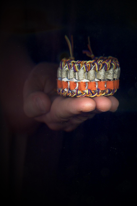 Manchette tissée Inca