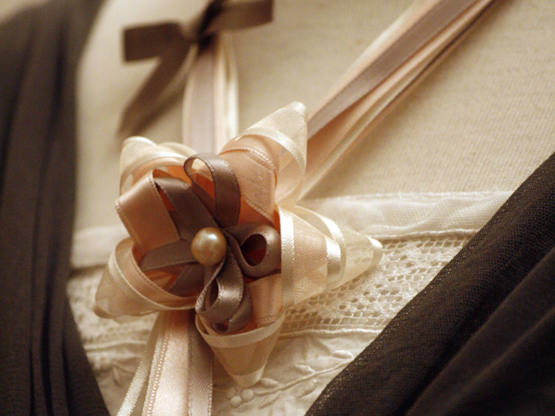 Sautoir cravate Botticelli