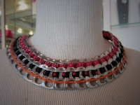 Collier plastron Pop