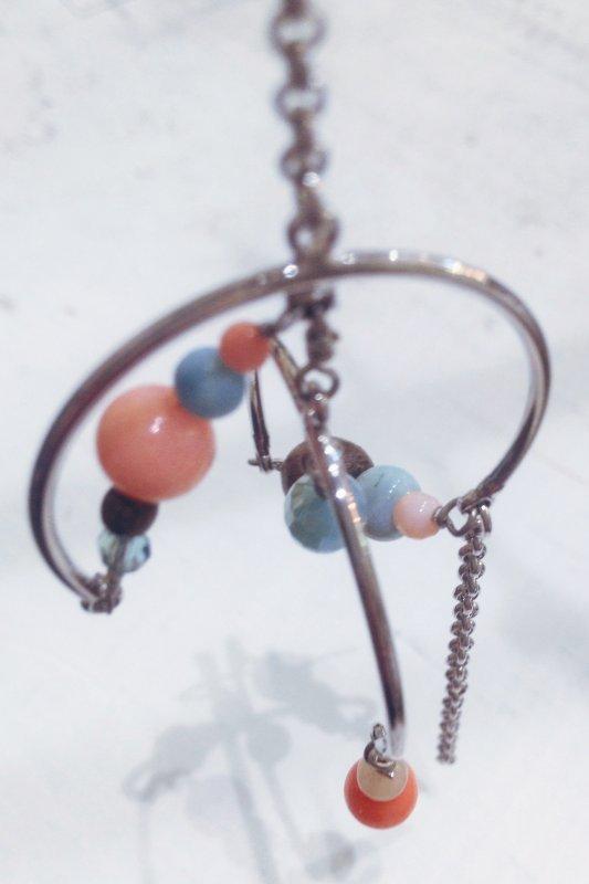 Boucles d'oreille asymétrique Bondi