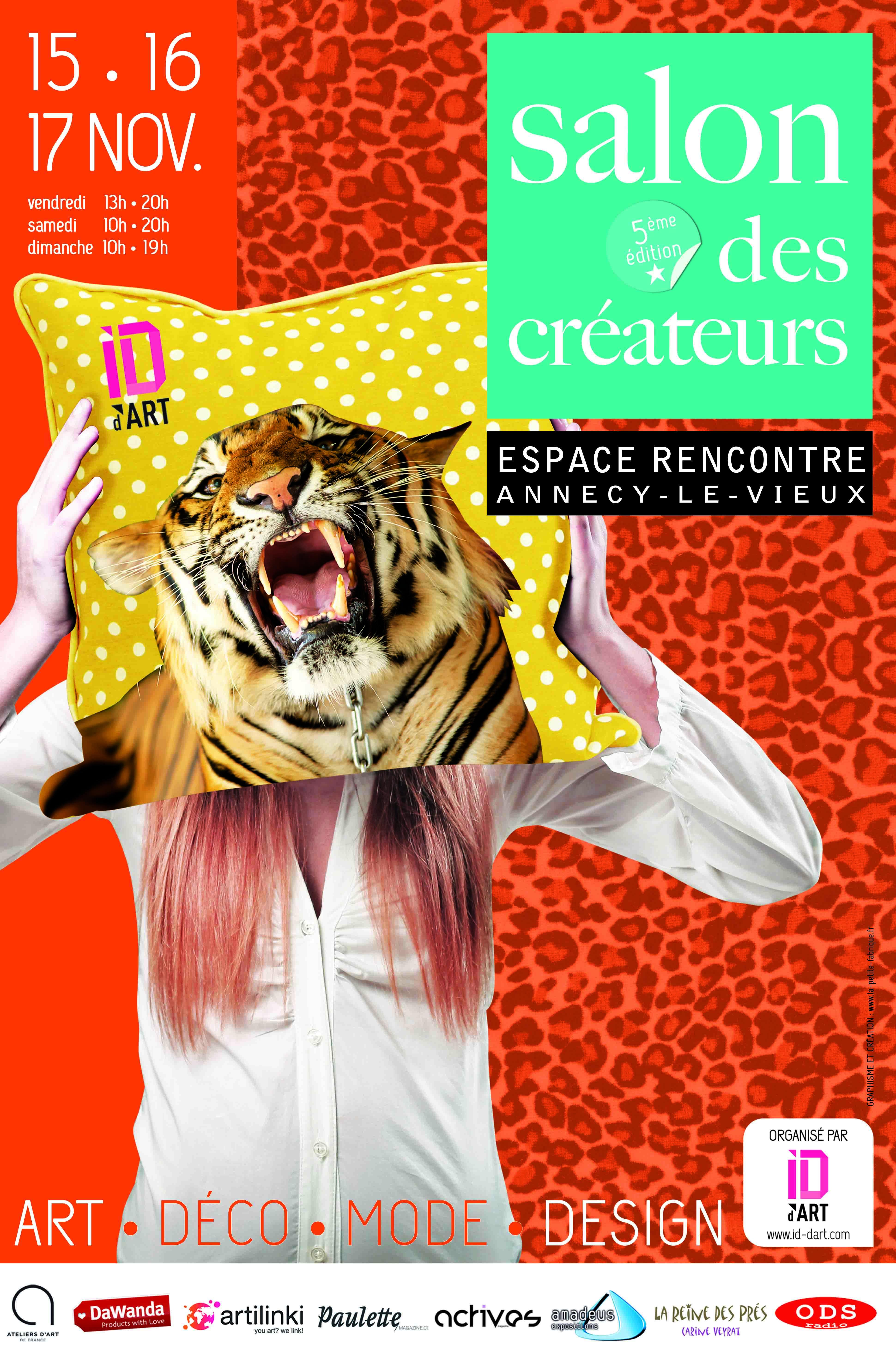 Affiche Salon des Créateurs ID d'Art Annecy