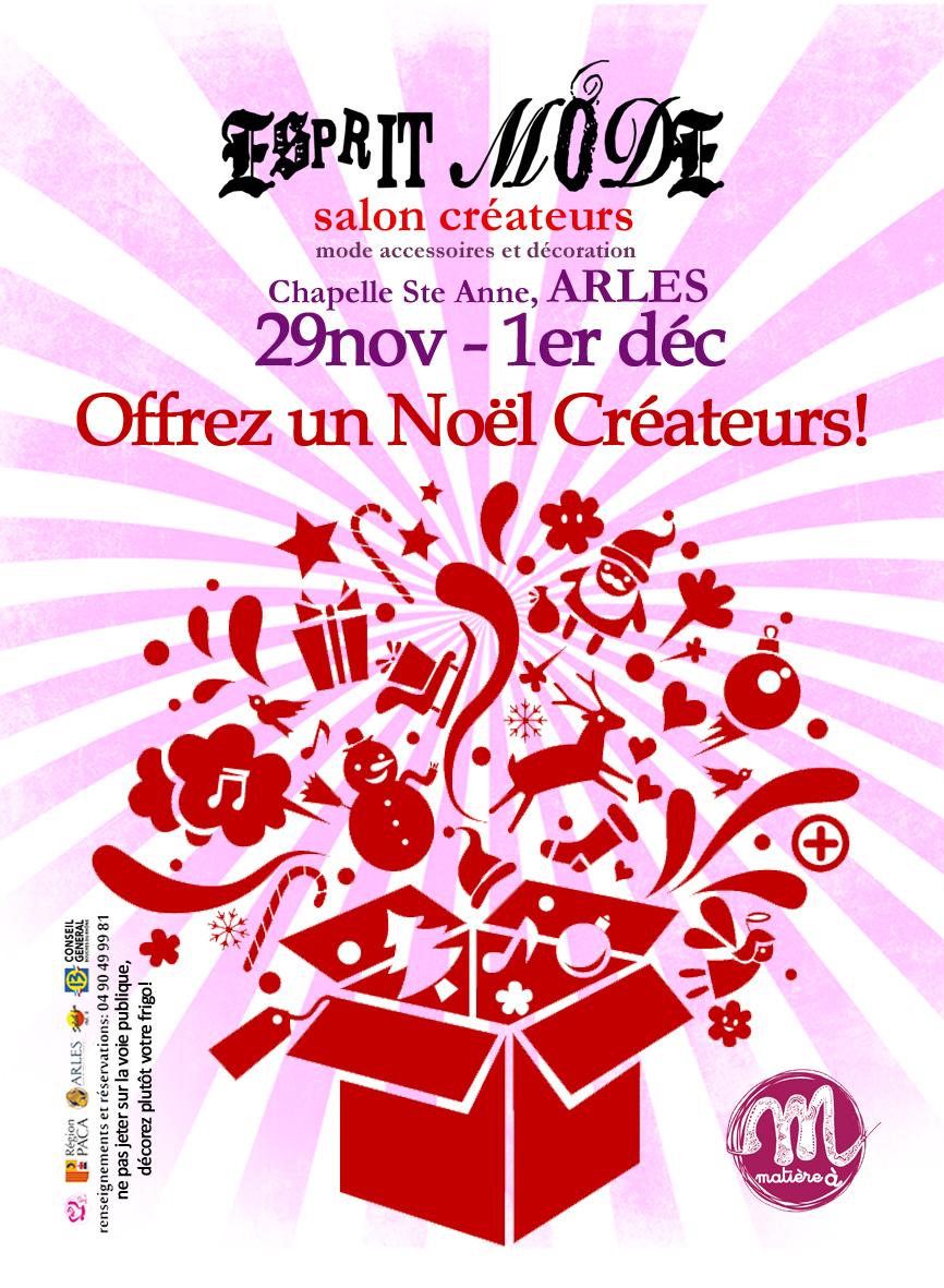 Affiche Esprit Mode Arles 2013