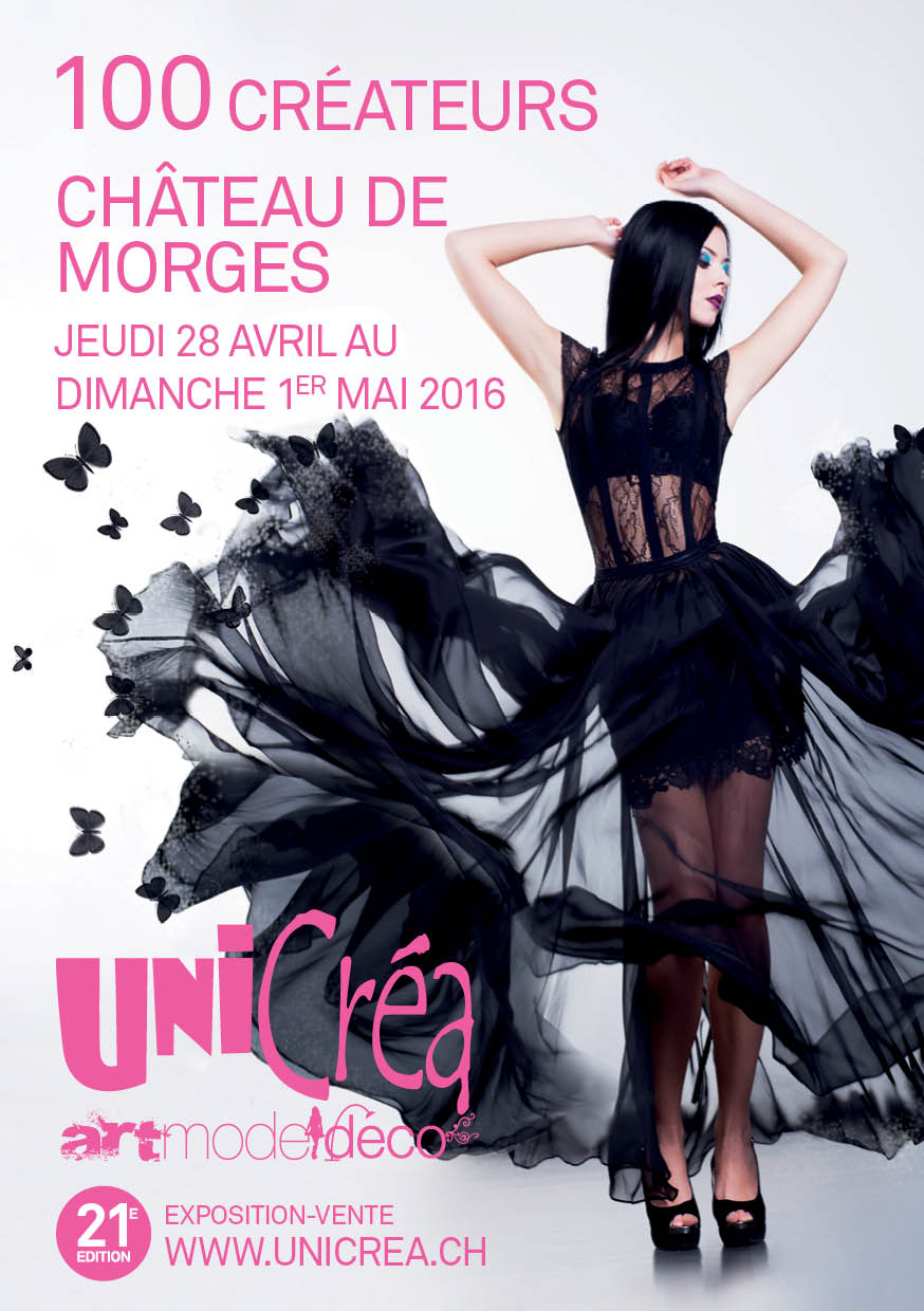 affiche salon Unicréa Morges