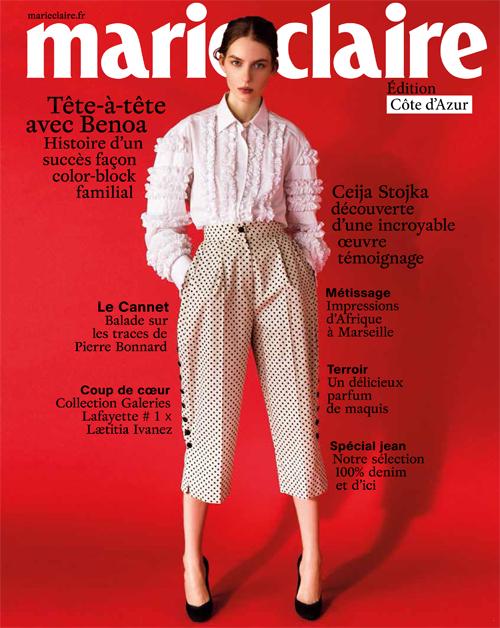 Couverture Marie Claire 777 édition Côte d'Azur