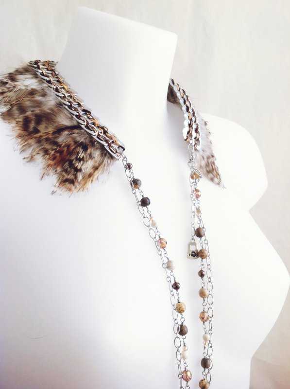 Collier col Fawn