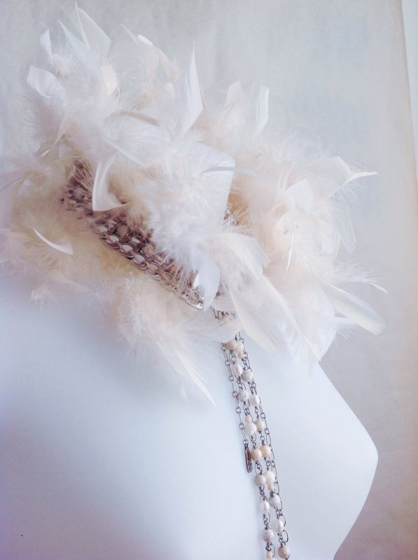 Collier col double Swan