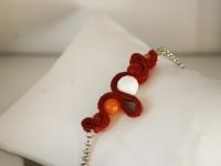 Bracelet Paysage rouge