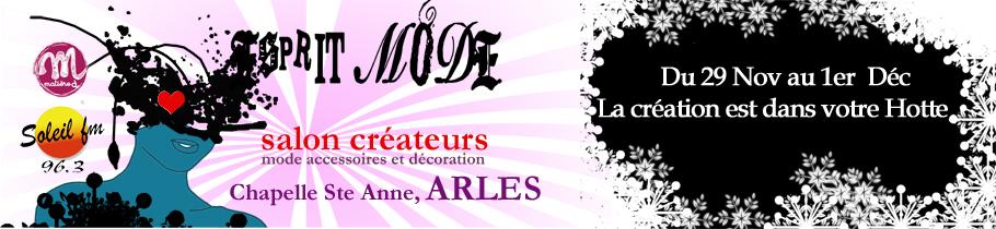 Bannière Esprit Mode Arles 2013